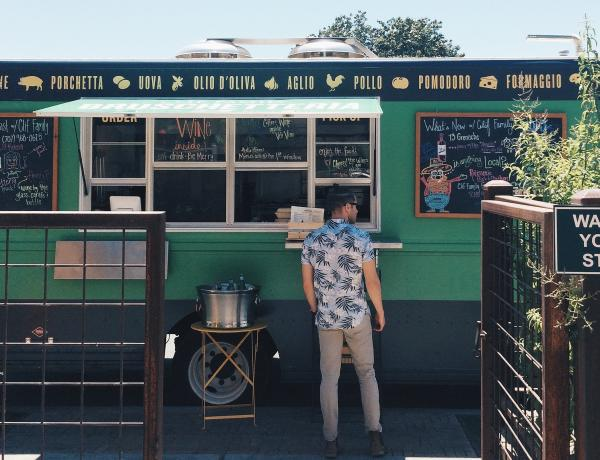 Clif Family Bruschetteria Food Truck in Napa Valley