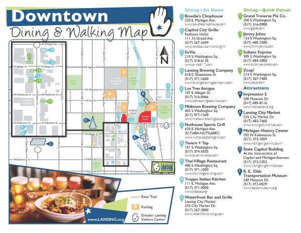 Downtown Walkable Map
