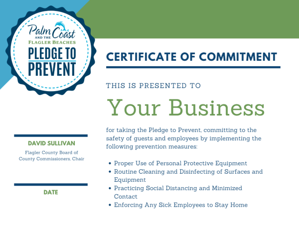 pledge to prevent certificate