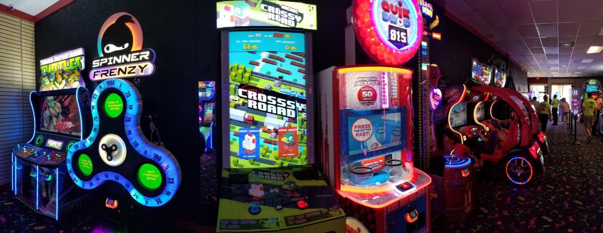 Games at Bayou Magic Fun Center