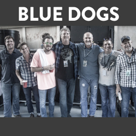 Hurricane Benefit Concert - Blue Dogs
