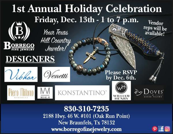 Borrego fine jewelry holiday celebration