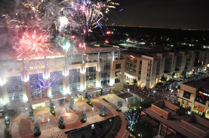 city centre fireworks NYE