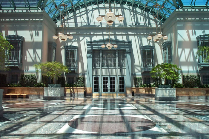 Winter Garden at ©Harold Washington Library Center
