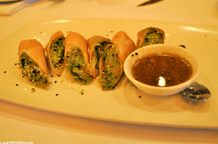 Avocado Crispy Rolls at Asparagus Restaurant in Merrillville, IN