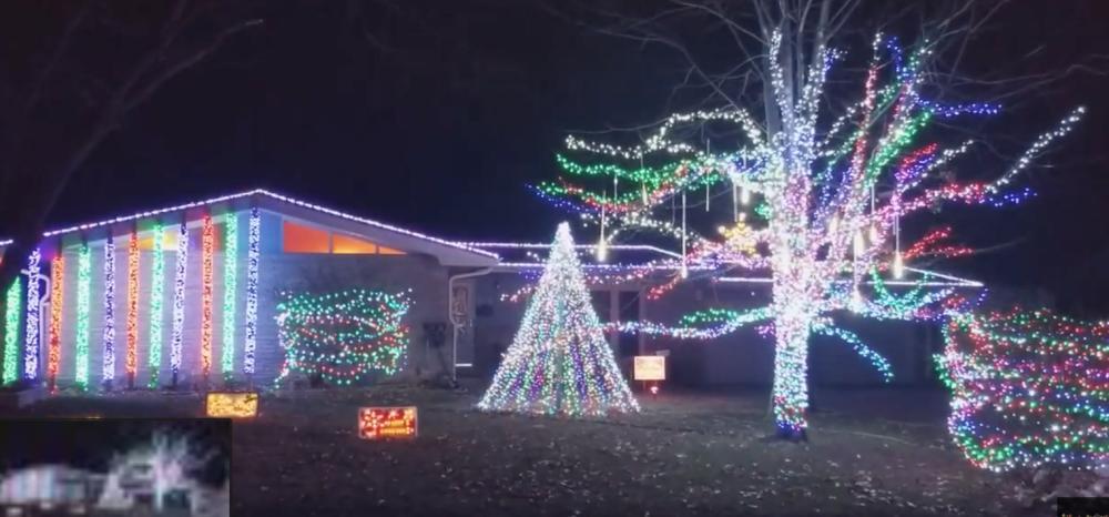 Christmas Lights on Crestline
