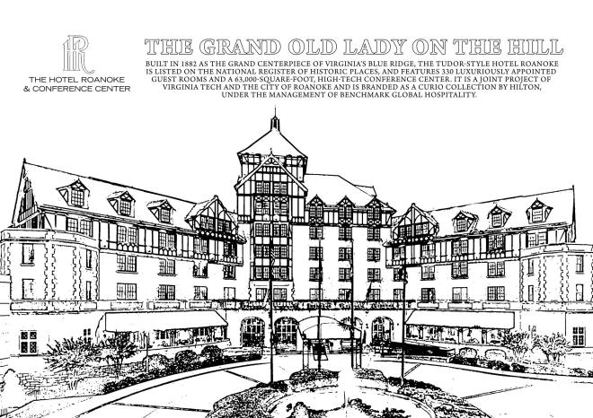 VBR Coloring Sheet - Hotel Roanoke