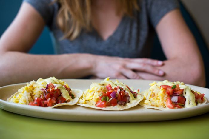 Snooze breakfast tacos