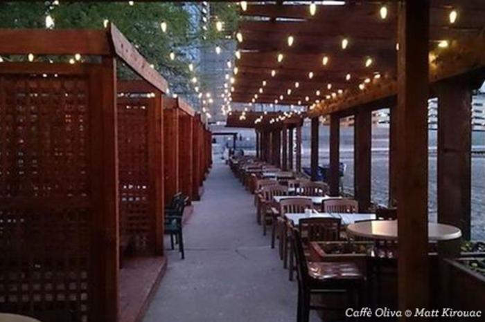 Patio at Caffe Oliva