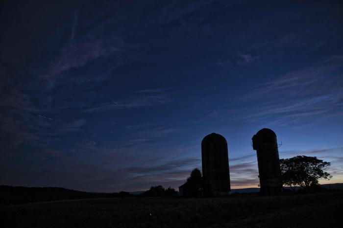 Douglas Graham Silo Sunset