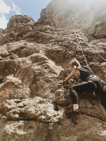 Rock Climbing Jemez