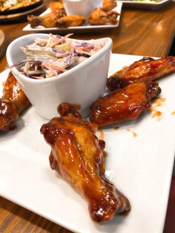 Verreaux BBQ Wings at Crying Eagle