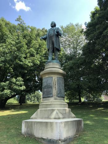 Frederick Douglass Statue Highland Park