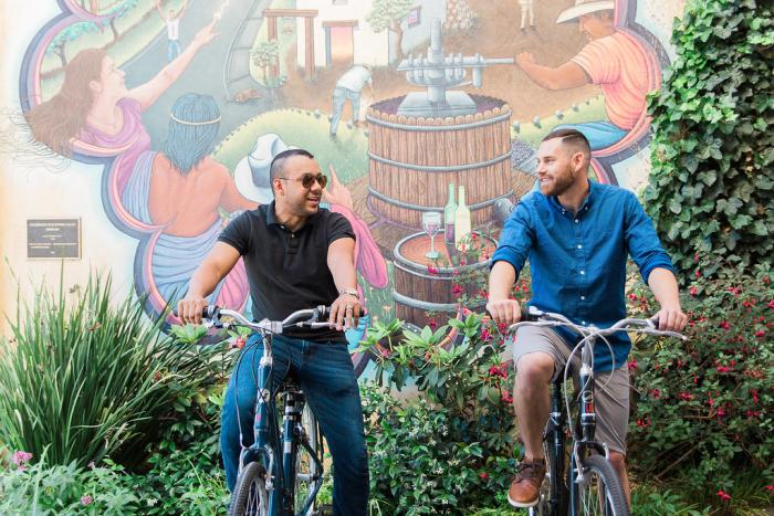 Gay Guys Biking