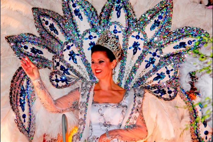 Krewe Queen - Mardi Gras