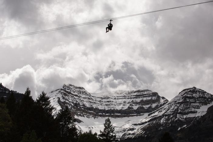 Winter ZipTour at Sundance
