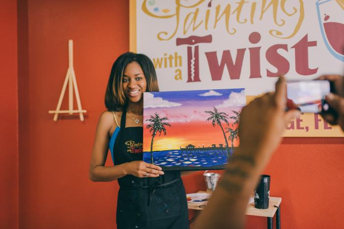 Painting with a Twist Cocoa Village