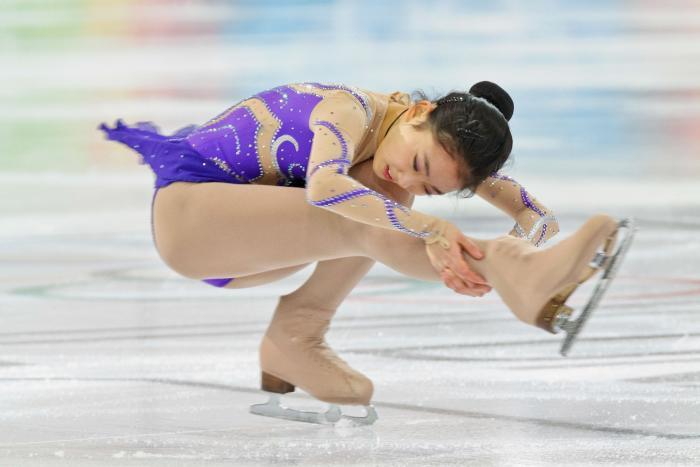 Winter Olympics IceSkater