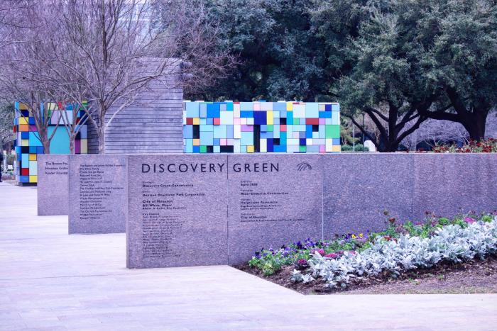 Discovery Green Entrance