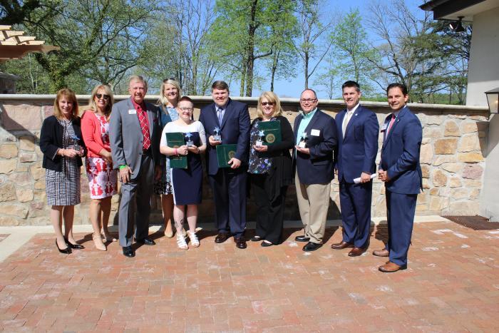 Tourism Week Award winners