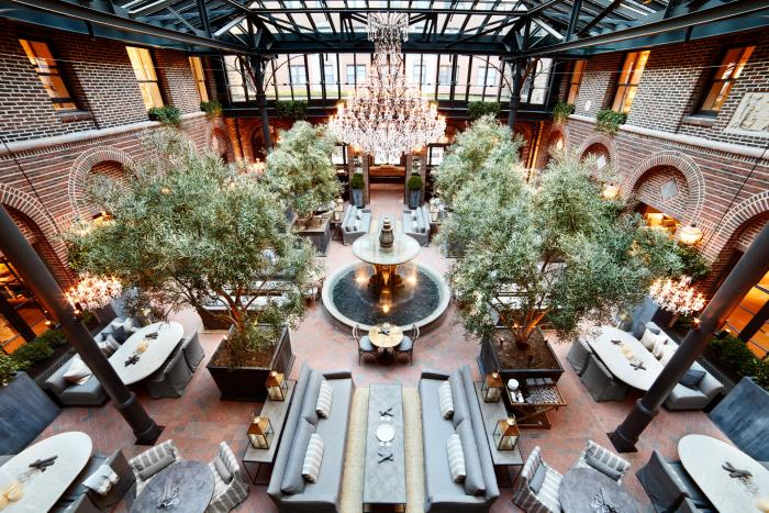 Interior of 3 Arts Club Cafe in Chicago