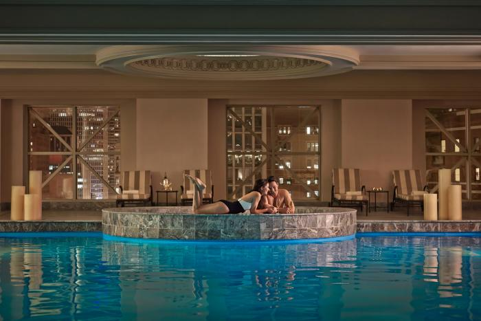 Pool at Four Seasons Chicago Spa