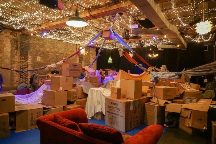 Forts! Build Your Own Adventure at Filament Theatre