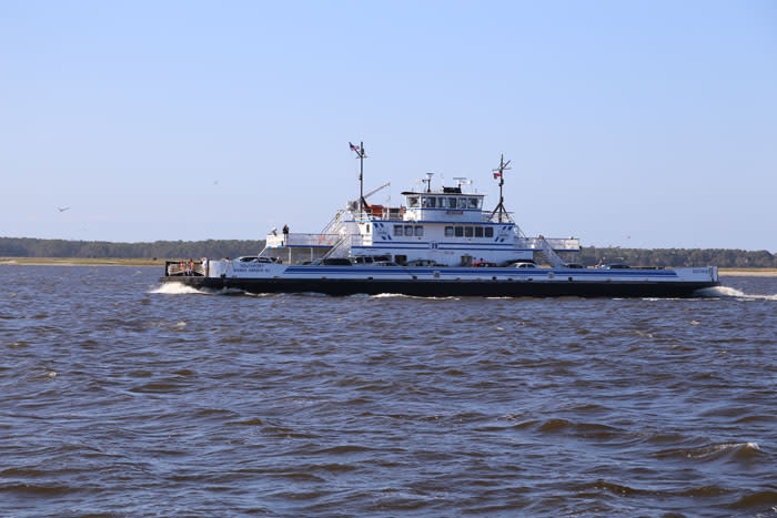 Southport / Fort Fisher Ferry