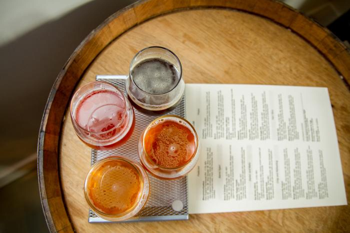 Two Perkasie men have turned their hobby into an obsession at Free Will Brewing Company.