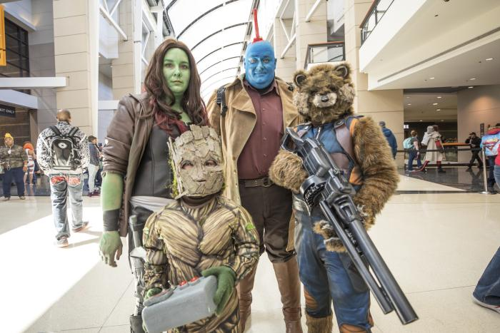 Cosplayers at C2E2