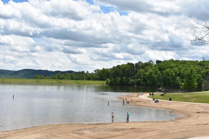Deam Lake Beach