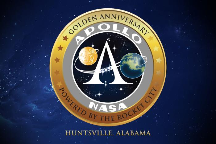 Apollo 50th badge