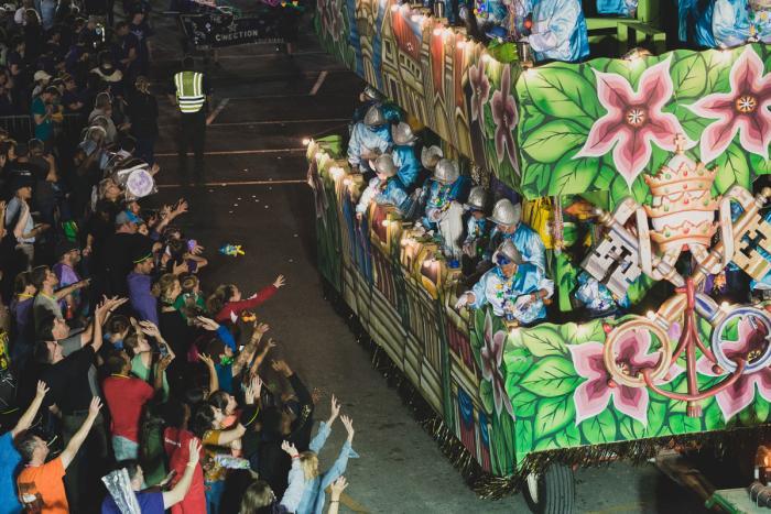 Excalibur Parade Mardi Gras