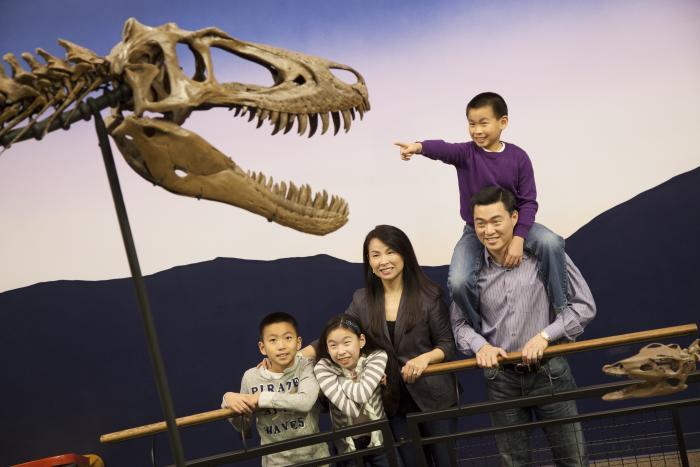 Family at Burpee Museum