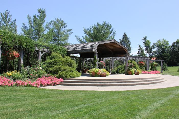 klehm arboretum pavilion
