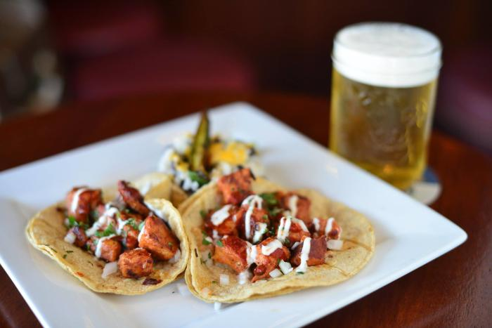 Olympic Tavern tacos