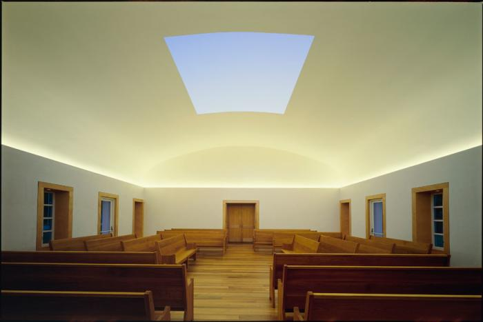 James Turrell Live Oak Meeting House