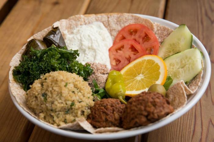 Vegetarian Dish from a Houston restaurant
