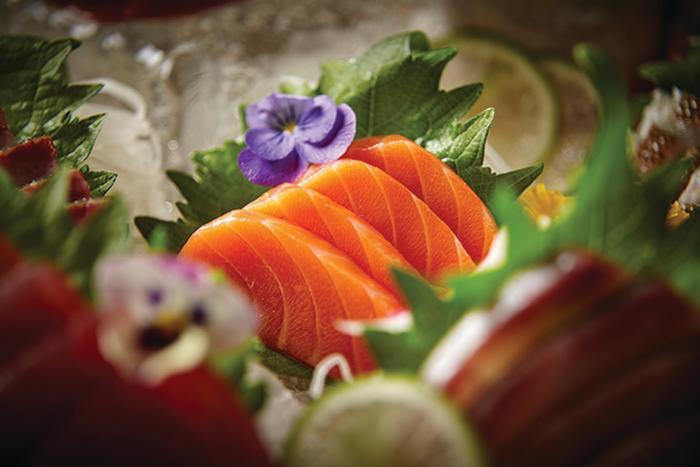 Roka Akor sushi dish