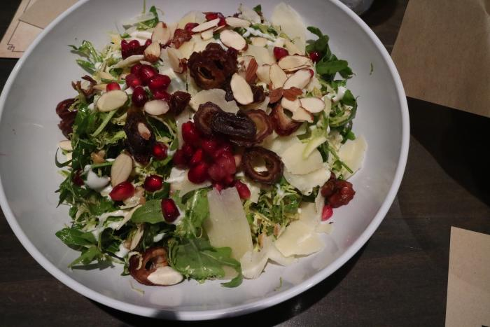 Salad at The Stand in Irvine