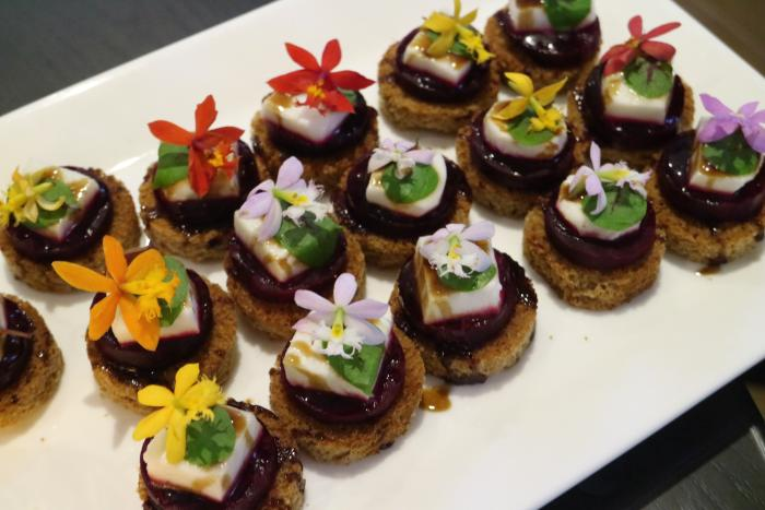 M Club Hors D'oeuvres at Irvine Marriott