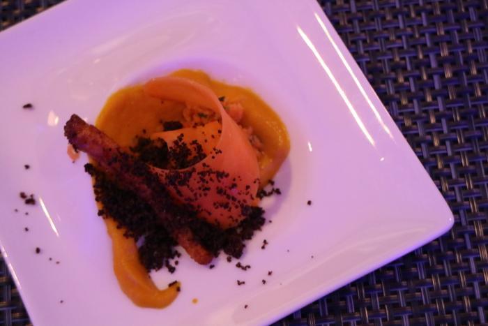 Floe Lounge Plated Food