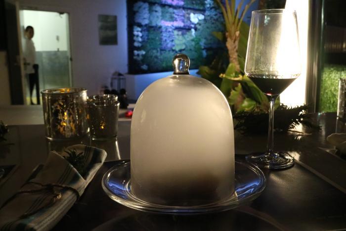 Floe Lounge Food Presentation