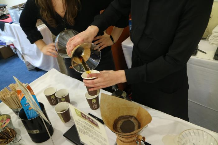 Coffee Samples at OC Restaurant Week in Irvine