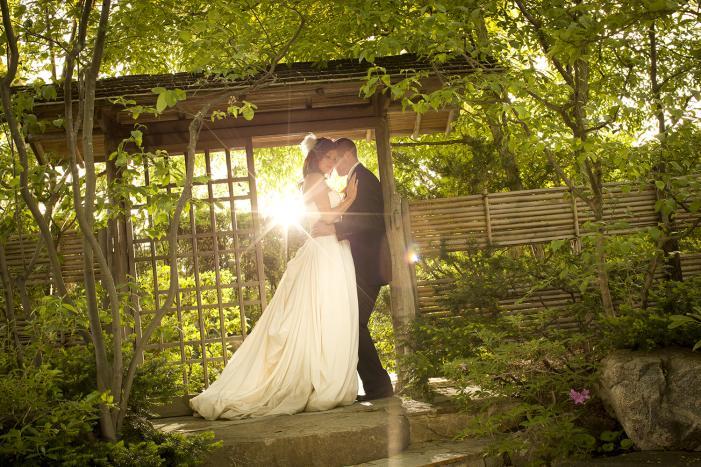 anderson japanese gardens wedding