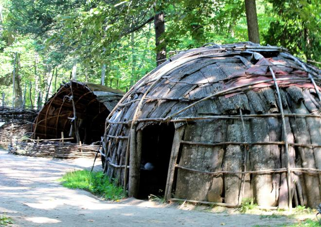 Natural Bridge State Park - Monacan Indian Village