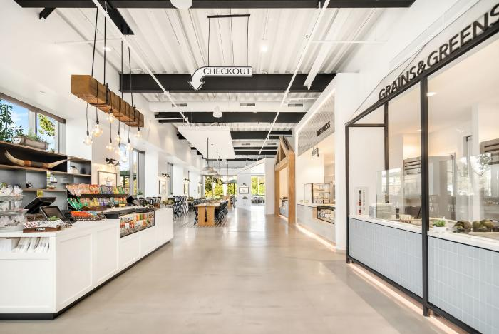 Herb and Ranch Food Hall Irvine - Interior