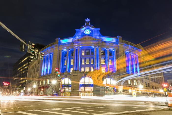 South Station at Night