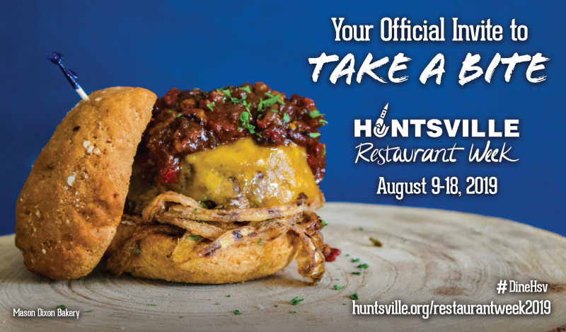 Huntsville Restaurant Week 2019 - promo graphic