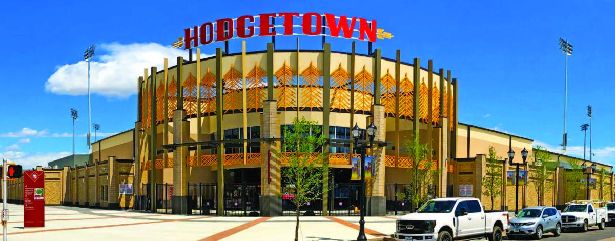 Hodgetown, home to the amarillo sod poodles